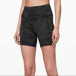Lululemon Fast and free short 6in size 6